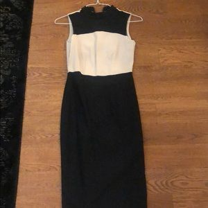 Dorothy Perkins sz 2/34 high neck dress with tag